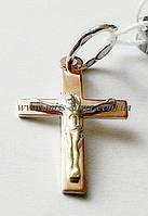 Маленький крестик с распятием