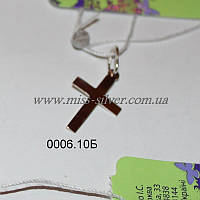 Крестик прямой без распятия