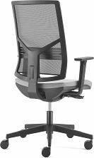 Кресло офисное PLAY black спинка сетка