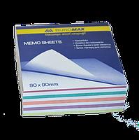 Блок бумаги для заметок 90х90 мм, 400 листов. Buromax