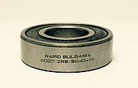 Шариковый радиальный подшипник, однорядный, 6002 2 RS