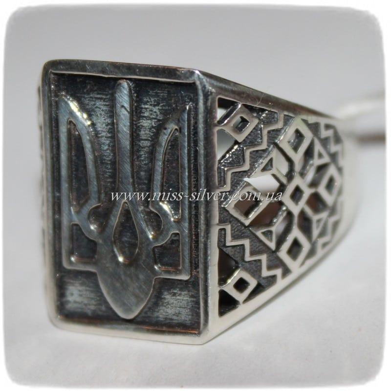 Перстень с гербом Украины Воля