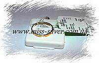Кольцо серебряное с золотым покрытием Классик