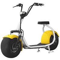 Мотоцикл минибайк BT-SC02-6W, желтые крылья