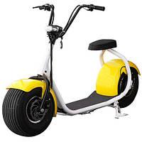 Электромотоциклы для детей и взрослых BT-SC01-6W, желтые крылья