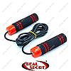 Скакалка скоростная с подшипником и PVC жгутом FI-8008 (l-2,8м, d-5мм)