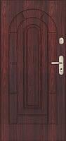Входная бронированная дверь для дома Gerda SX 20 узор P81 GUARDA