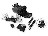 Подседельная сумка Crivit с жестким креплением + набор инструмента и ремкомплект