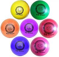 Мячи для художественной гимнастики. Диаметр 19см. (лаковый)