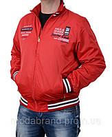 Ветровка,куртка мужская опт и розница.Paul Shark-100 красная
