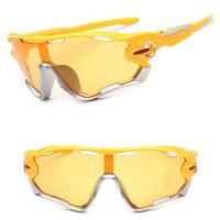 Очки велосипедные Robesbon 9270 спортивные Yellow велоочки