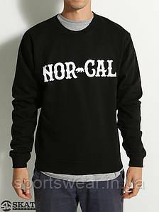 Свитшот мужской с принтом Nor Cal True North Crew Кофта
