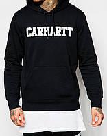 Худи мужская с принтом Carhartt WIP College | Толстовка