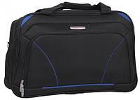 Качественная дорожная черная сумка SOS Roncato SKATE 20 Black, 45.37.20.01, 25 л.