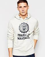 Худи мужская с принтом 'Franklin & Marshall' Франклин Маршал | Толстовка