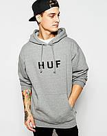 Худи мужская с принтом HUF Original Logo Hoodie | Толстовка