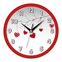 Настенные Часы Сlassic День Святого Валентина Red