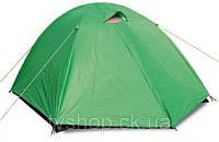 Палатка 3-х местная SY-007 (р-р 2,0*2,0*1,35м, PL, с тентом)
