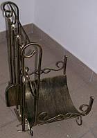 Набор для камина с подставкой для дров №4