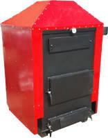 Твердотопливный пиролизный котел длительного горения воздушного типа коп 17-вз мощностью 17 кВт