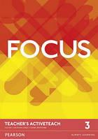 Focus 3 TB Active Teach CD