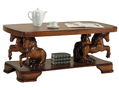 "Элегантный столик из дерева ""OSCAR"" (137х60х68 см)"