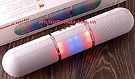 Колонка Bluetooth Портативная с Подсветкой Mp3 MicroSD USB Белая!