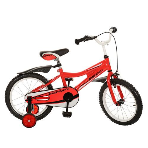 Детский двухколесный велосипед Profi 16 дюймов 16BA494-1 красный