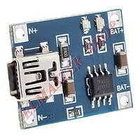 Плата зарядки Li-Po аккумуляторов TP4056 Mini USB