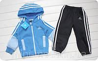 """Детский спортивный костюм """"Adidas"""", голубой"""