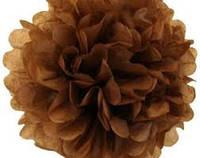 Бумага тишью коричневая 10 листов 50 х 75 см.