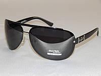 Мужские солнцезащитные очки Matrix капли черные 780124, фото 1