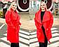 """Стильный женский кардиган в больших размерах 950 """"Кашемир Карманы"""" в расцветках, фото 2"""