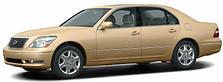 Защита двигателя Lexus LS430 (2002-2006)
