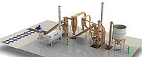 Комплектные заводы для производства гранулированных кормов.