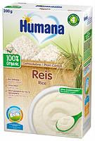 Humana organic каша безмол.200гр.рисова (з 6 міс)