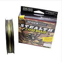 Шнур плетеный Spider Wire Camo Braid 0,35mm 125m