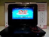 Переносной портативный DVD 777 плеер 7,2'' +USB+TV+FM+Game