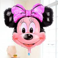 """Воздушный шар-фигура из фольги голова """" Минни Маус"""""""