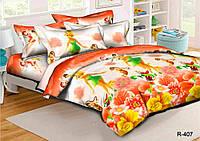 Полуторный подростковый постельный комплект Динь-Динь, ранфорс