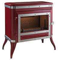 Чугунная печь-камин INVICTA TENNESSEE красная эмаль