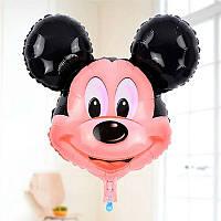 """Фольгированый фигурный шар голова """" Микки Маус"""""""