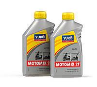 Минеральное моторное масло YUKO MOTOMIX 2T (API TC) 1л