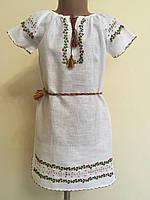 Сукня вишита для дівчинки ручної роботи 6-8 років