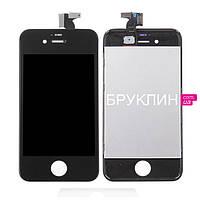 Дисплей для мобильного телефона Iphone 4s, черный, с тачскрином / Экран для Айфон 4 s, черного цвета