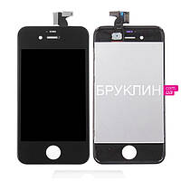Оригинальный дисплей для мобильного телефона Iphone 4s, черный, с тачскрином / Экран для Айфон 4 s оригинал