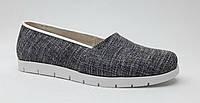 Туфли женские из текстиля с кожаной подкладкой  на термополиэстеровой подошве