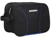 Комфортная черная сумка несессер Ciak Roncato SKATE 12 Black, 45.37.12.01, 8 л.