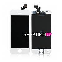 Оригинальный дисплей для мобильного телефона Iphone 5s, белый, с тачскрином / Экран для Айфон 5 s, оригинал