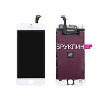 Оригинальный дисплей для мобильного телефона Iphone 6, белый, с тачскрином / Экран для Айфон 6, оригинал